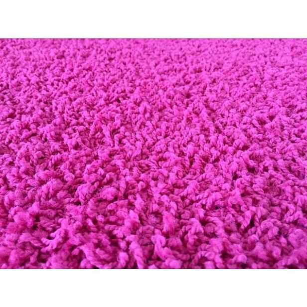 Kusový koberec Color Shaggy růžový 80 x 150 cm