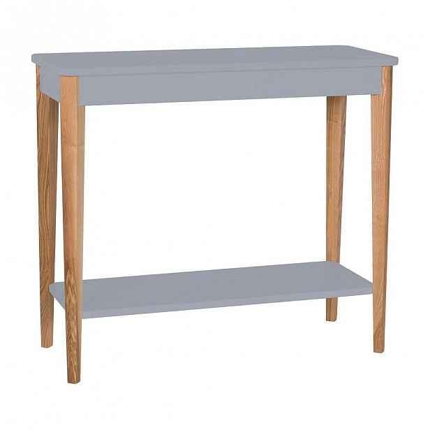 Šedý konzolový stolek Ragaba Ashme, šířka85cm