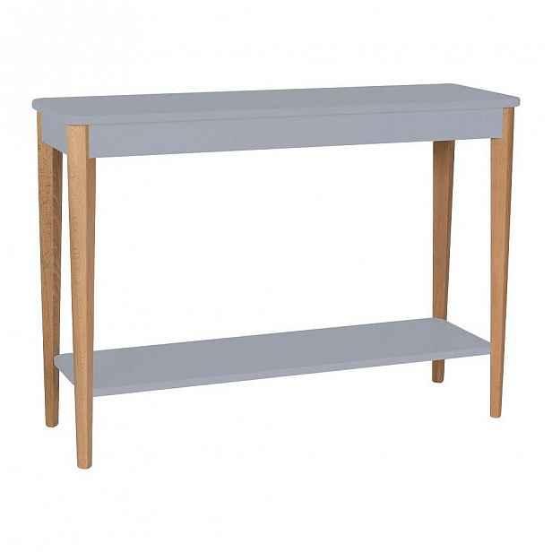 Šedý konzolový stolek Ragaba Ashme, šířka105cm