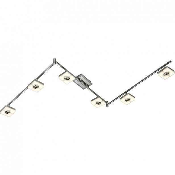 XXXLutz BODOVÉ LED SVÍTIDLO, barvy niklu, teplá bílá, 11/180 cm Novel - LED bodovky - 008227081804