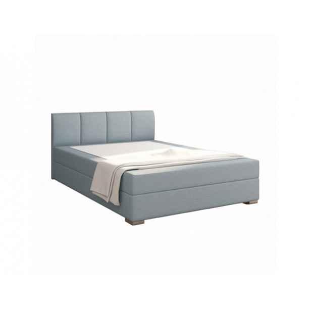 Boxspringová postel 140x200, mentolová, RIANA KOMFORT