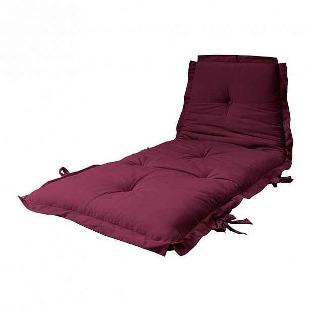 Variabilní futon Karup Design Sit&Sleep Bordeaux