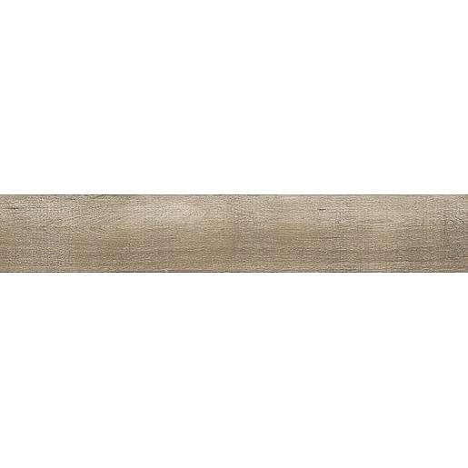 Dlažba Rako Saloon tmavě hnědá 20x120 cm mat DAKVG748.1