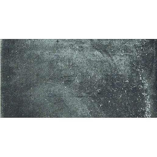 Dlažba Cir Miami pitch black 10x20 cm mat 1063968