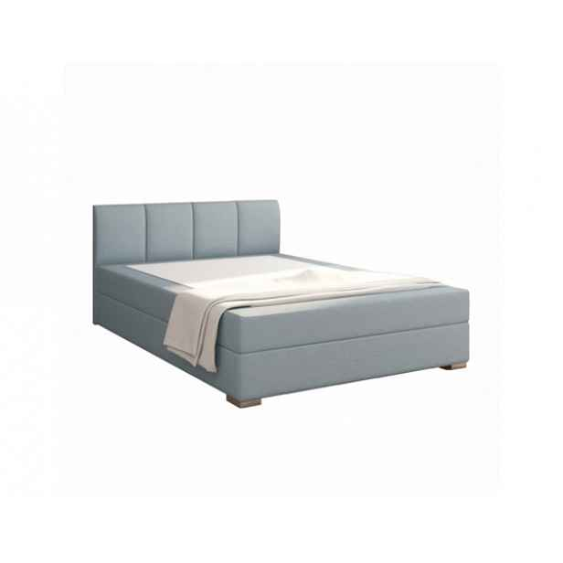 Boxspringová postel 120x200, mentolová, RIANA KOMFORT