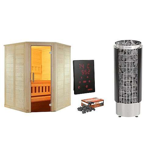 Finská sauna Mini,řídící j. HARVIA XENIO