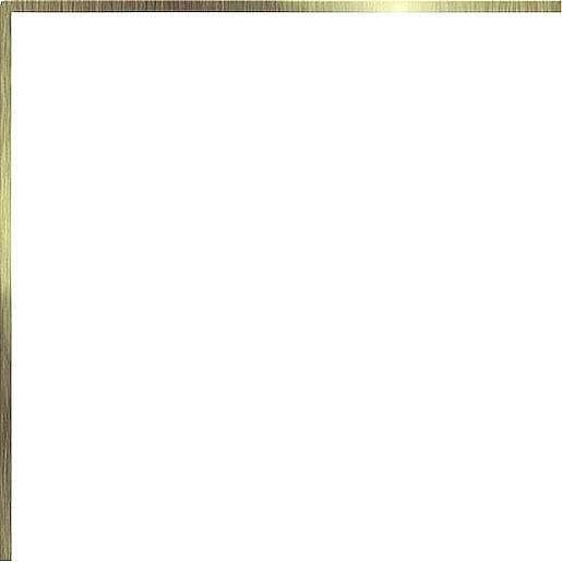 Profil Cir Miami ottone 20x20 cm mat 1065269