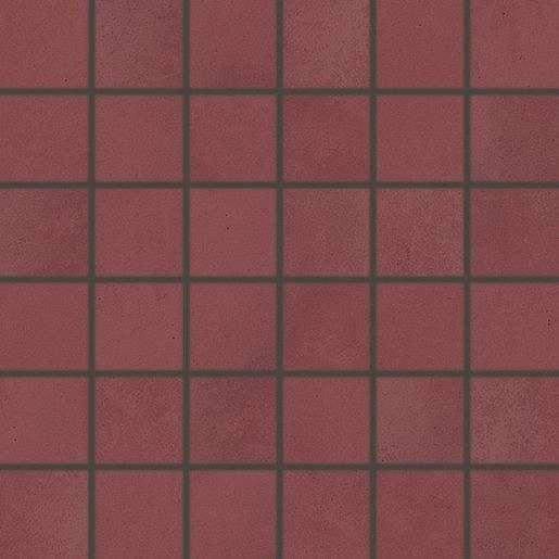 Mozaika Rako Blend bordo 30x30 cm mat WDM06810.1