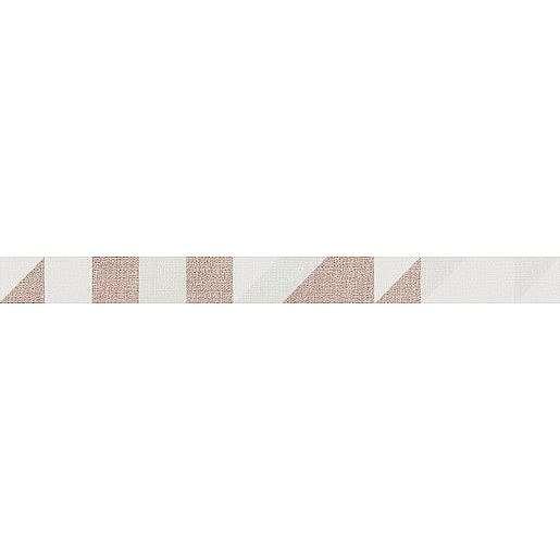 Listela Rako Tess červená 3x40 cm mat / lesk WLAMF454.1