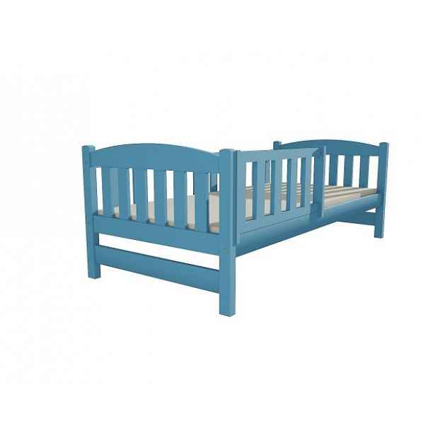 Dětská postel DP 002 modrá, 90x200 cm
