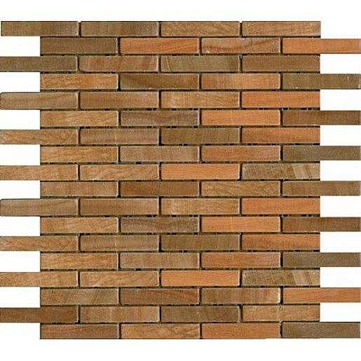Kamenná mozaika oranžová 30x30 cm mat STMOS1575ORW