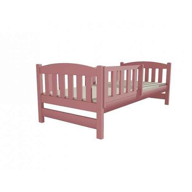 Dětská postel DP 002 růžová, 90x200 cm