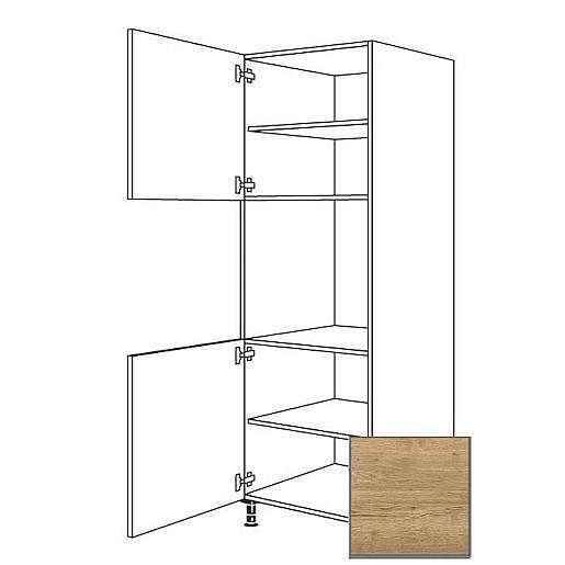 Kuchyňská skříňka vysoká Naturel Sente24 pro troubu 60 cm dub sierra 405.GO02.L
