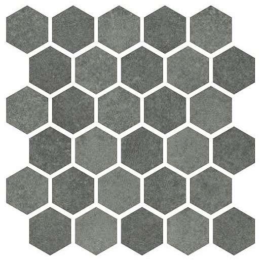 Mozaika Cir Materia Prima hunter green hexagon 27x27 cm lesk 1069912