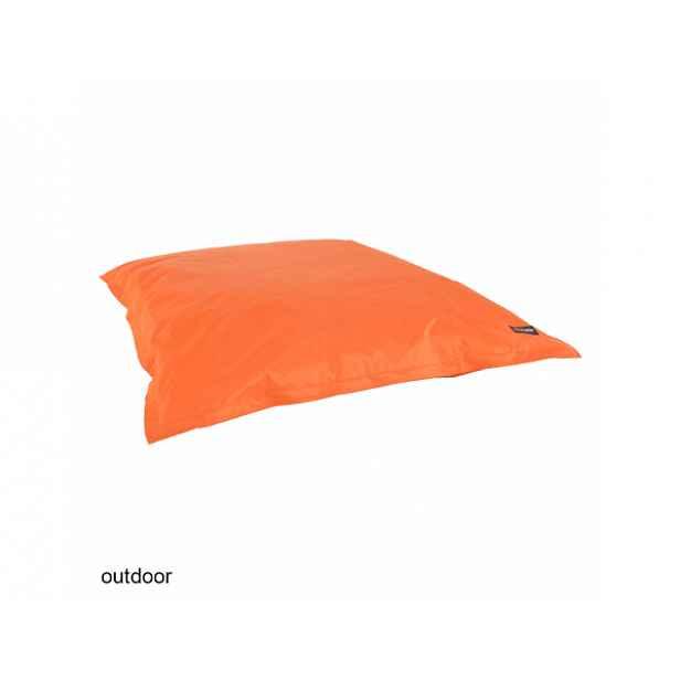 Sedací vak, oranžová látka, GETAF