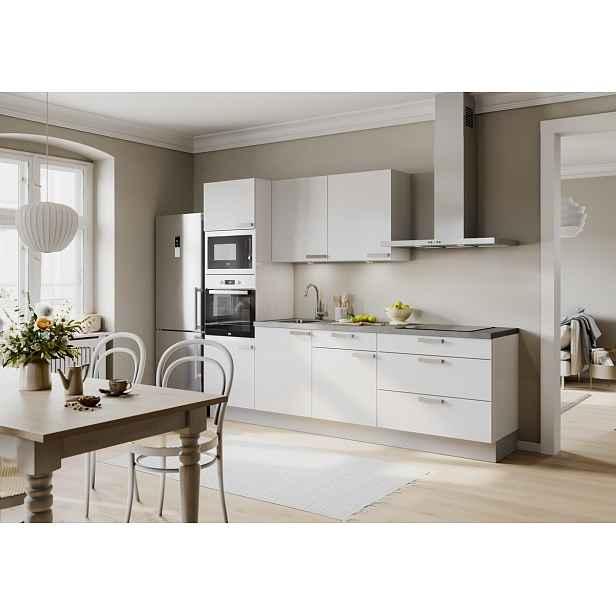 Kuchyňská linka Naturel Easy24 270x60 cm , bílá lesk