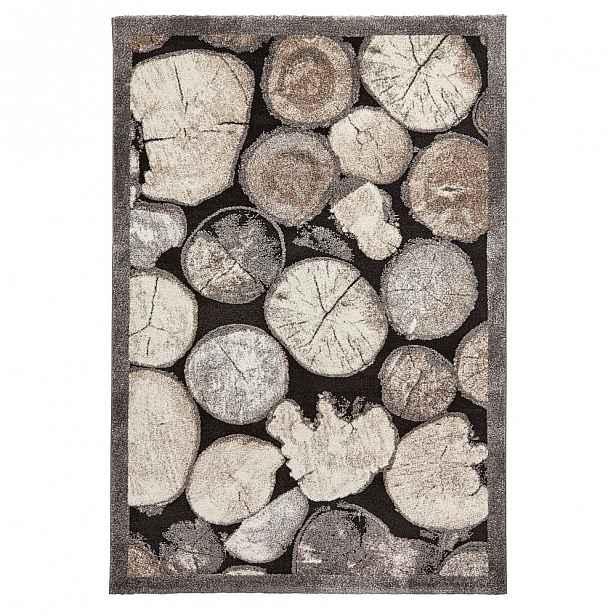 Koberec s motivem dřeva Think Rugs Woodland, 120x170cm