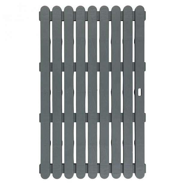 Tmavě šedá předložka vhodná i do exteriéru Wenko, 80x50cm