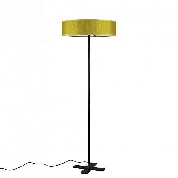 Žlutá volně stojící lampa Bulb Attack Doce