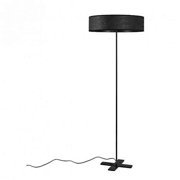 Černá volně stojící lampa Bulb Attack Once