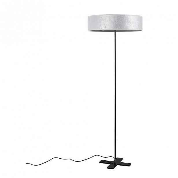 Bílá volně stojící lampa Bulb Attack Quince