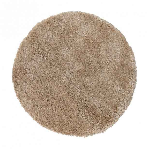 Béžový koberec Flair Rugs Sparks, ⌀ 133 cm