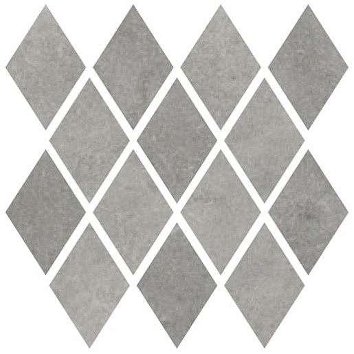 Mozaika Cir Materia Prima metropolitan grey rombo 25x25 cm lesk 1069900