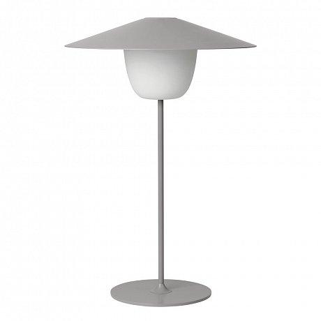 Světle šedá střední led lampa Blomus Ani Lamp