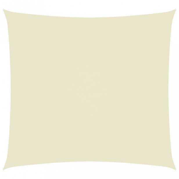Stínící plachta obdélníková 2 x 2,5 m oxfordská látka Dekorhome Krémová