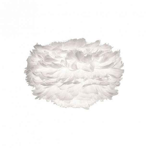 Bílé stínidlo z husího peří VITA Copenhagen EOS, ⌀35cm