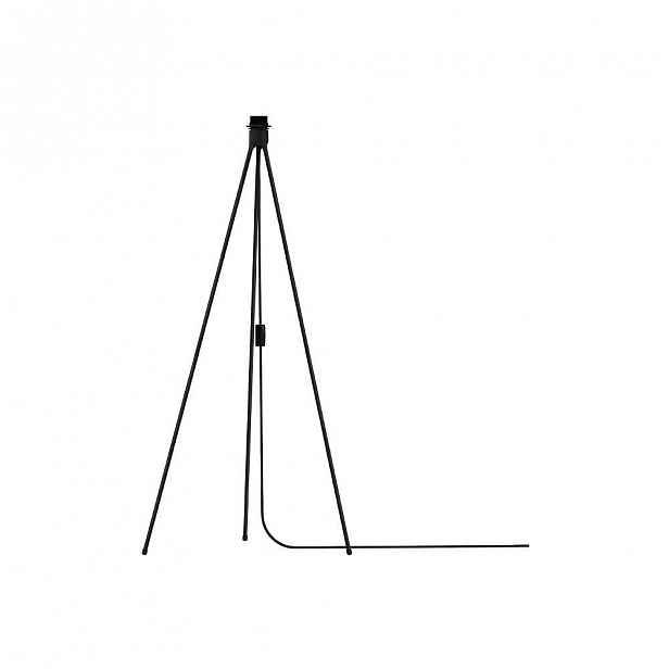 Černý stojan tripod na světla VITA Copenhagen, výška109cm