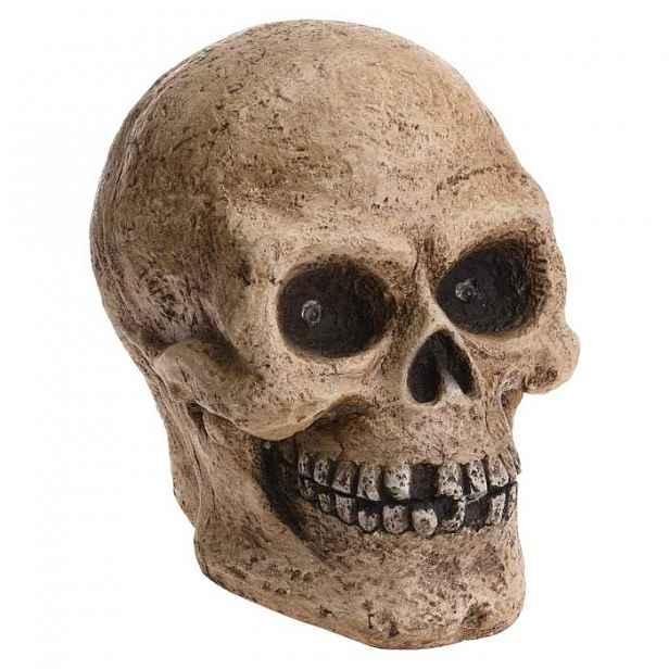 Svíticí lebka 35cm