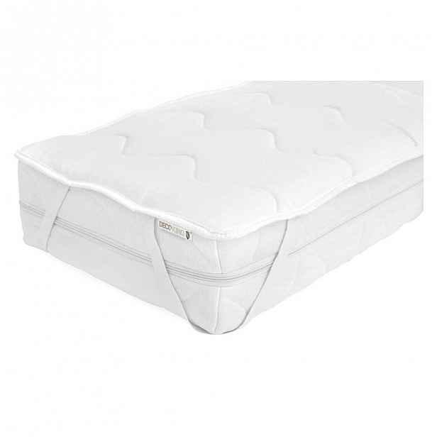 Ochranný potah na matraci na dvoulůžko z mikrovlákna DecoKing Lightcover, 220x200cm