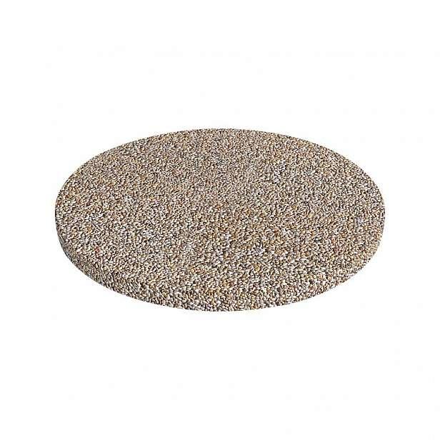 Dlažba betonová DITON plošná vymývaná Dunaj 4-8 nášlap kruhový