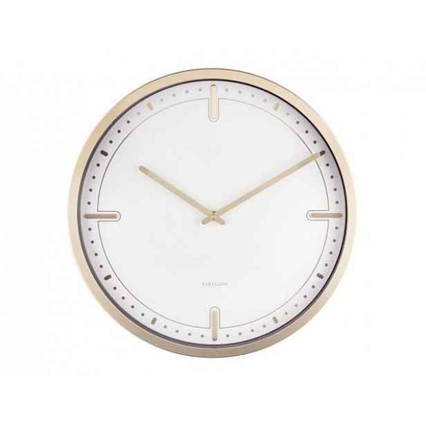 Designové nástěnné hodiny 5727WH Karlsson 42cm