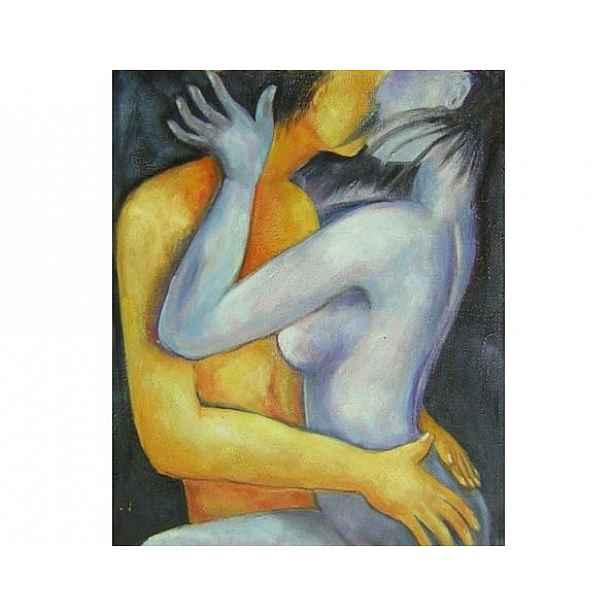 Obraz - Milující se pár