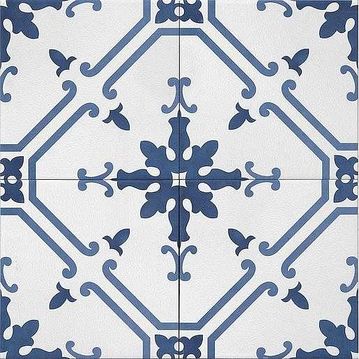 Dlažba Tonalite Aquarel blu elektra 15X15 cm mat AQUELEBL