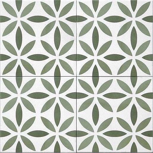 Dlažba Tonalite Aquarel verde antares 15X15 cm mat AQUANTVE