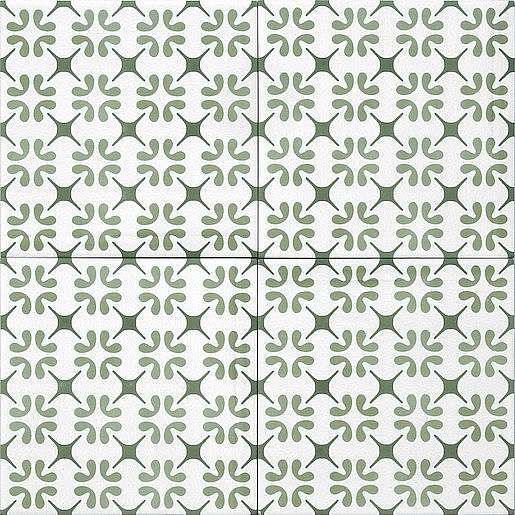Dlažba Tonalite Aquarel verde polaris 15X15 cm mat AQUPOLVE