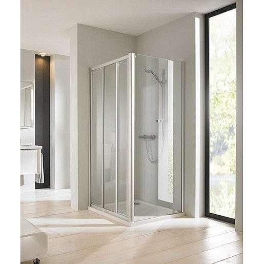Sprchové dveře 80x190 cm Huppe Next chrom matný SIKONEXTD380STEN75