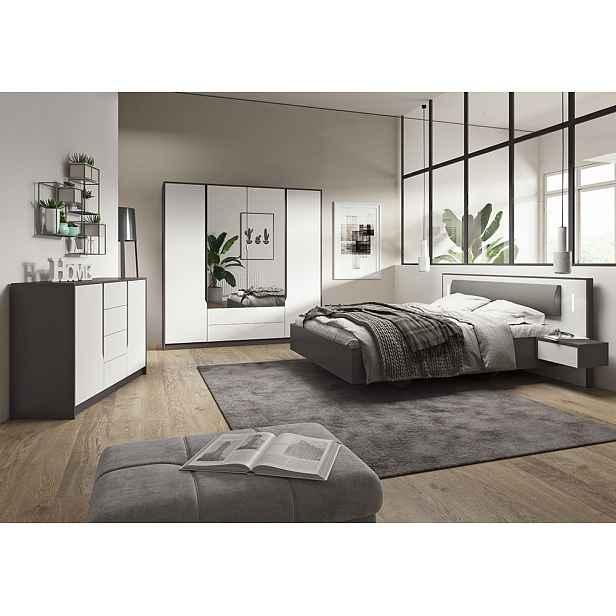 Moderní ložnice Sfera + LED podsvícení