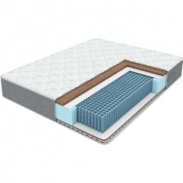 Matrace s taštičkovými pružinami se dvěma pocity tuhosti Lux Duo M/F, 140 x 200 cm