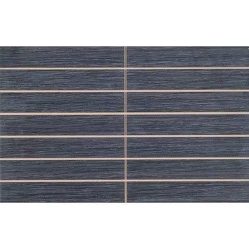 Dekor Vitra Elegant Anthracite prořez 25x40 cm mat K840762