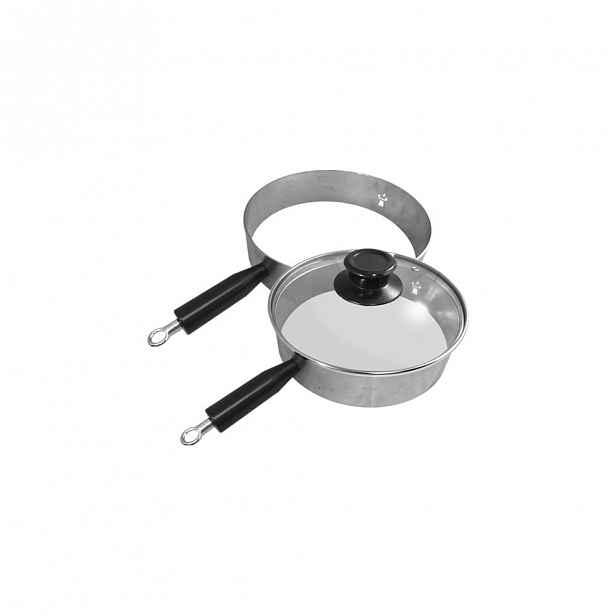 Grilovací kroužek s poklicí Remundi,ø20cm