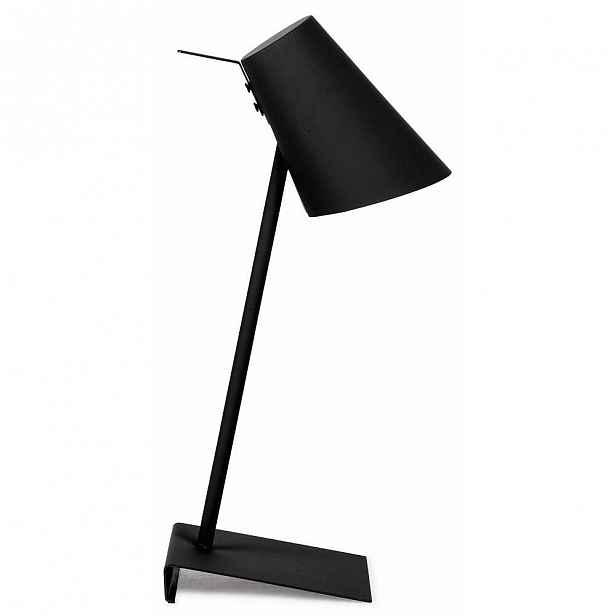 Černá stolní lampa Citylights Cardiff