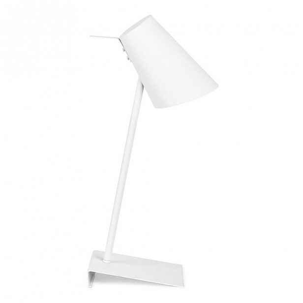 Bílá stolní lampa Citylights Cardiff