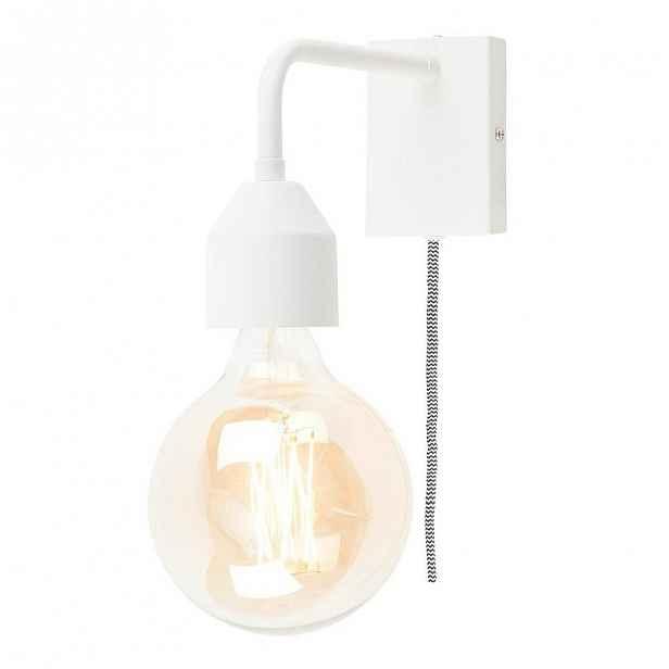 Bílá nástěnná lampa Citylights Madrid