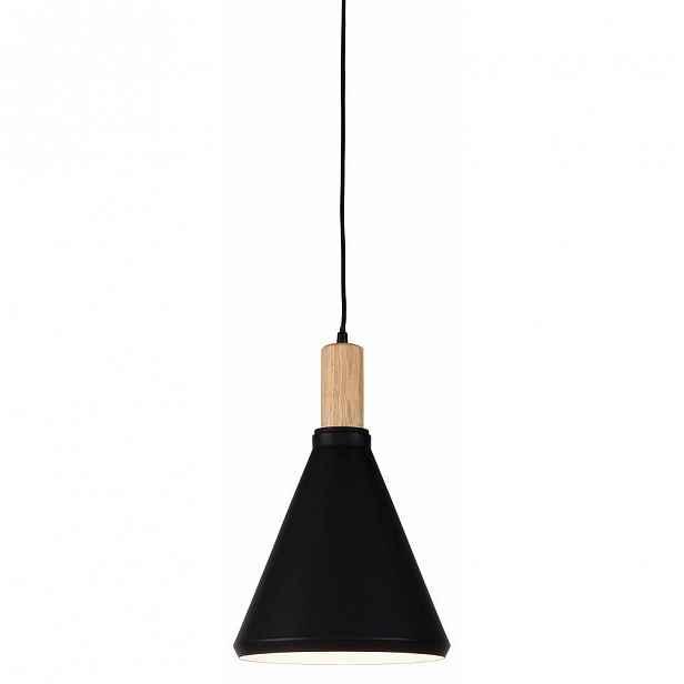 Černé závěsné svítidlo Citylights Melbourne Three