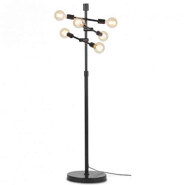 Černá volně stojící lampa Citylights Nashville