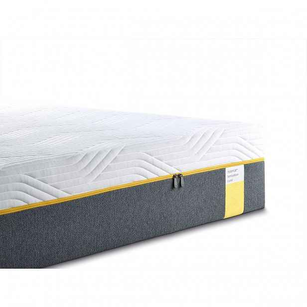 TEMPUR Sensation Luxe 200 x 200 x 30 cm matrace z materiálu TEMPUR s pružným pocitem